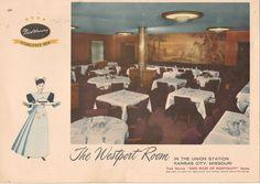 - The Westport Room, Kansas City, Missouri Judy Garland Movies, Harvey House, Harvey Girls, Union Station, The St, Native American Art, Wild West, Missouri, Kansas City