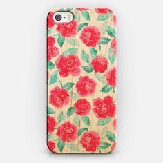 Pretty floral phone case.