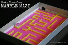 Maze Mania Fun and Easy Kids Crafts for All Ages - Explore, Imagine, and Create! AllFreeKidsCraftsFun and Easy Kids Crafts for All Ages - Explore, Imagine, and Create! Rainy Day Activities For Kids, Games For Kids, Fun Activities, Children Activities, Diy Crafts For Kids, Fun Crafts, Craft Kids, Kids Diy, Straw Crafts