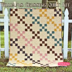William's Crossing Quilt KitFeaturing Love - Collection for a Cause by Howard Marcus - Quilt Kits | Fat Quarter Shop