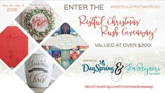 Restful Christmas Rush Giveaway