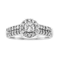 1 ct. tw. Sitara Diamond Engagement Ring in 14K White Gold