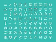 Icons, Piktogramme