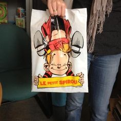 Petit Spirou shopping bag