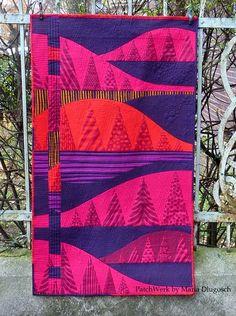 Winter quilt by Maria Dlugosch                                                                                                                                                                                 Mehr