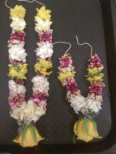 Small flowers garland.