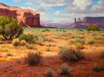 Artist: Mark Haworth - Title: Colors of Monument Valley