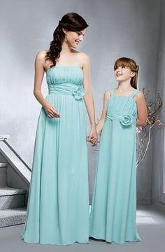 Mint Junior bridesmaid dress,Mint Flower girl Dresses,Peach ...