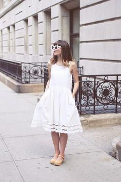 vestido blanco en verano | Pepaloves