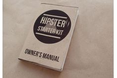 A Hipster Starter Kit For All Your Ironic Needs