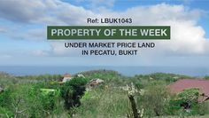 Paradise Property:  Property of The Week!  Under market price Freehold land with an outstanding ocean view in Bukit for sale. A very motivated vendor wants a quick sale. Asking price IDR350,000,000/are negotiable.  https://ppbali.com/property/under-market-price-land-freehold-ocean-view-pecatu-bukit/  For a viewing, please email lionel@ppbali.com   #balilandforsale #baliproperty #balifreeholdland #tanahhakmilik #oceanview #paradisepropertygroup #ppg #balirealestate