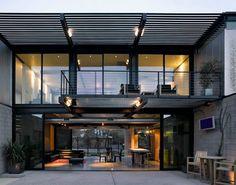 casa con estilo chic industrial