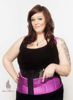 For the plus size women who prefer to carry concealed! Super excited about this! www.deneadams.com