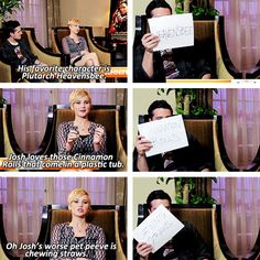 And when Jennifer literally knew everything about Josh, including his hatred for chewing straws: 27 Times Jennifer Lawrence and Josh Hutcherson Proved They Have The Best Offscreen Relationship Ever Hunger Games Cast, Hunger Games Catching Fire, Hunger Games Trilogy, Josh Hutcherson, Shia Labeouf, Logan Lerman, Amanda Seyfried, Jenifer Lawrance, Josh And Jennifer