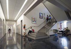 Spartanburg Day School by McMillan Pazdan Smith Architecture - Hallway
