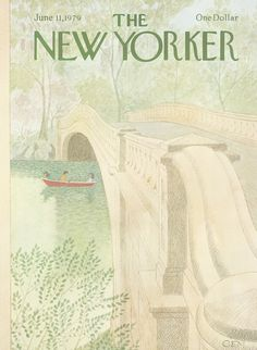 The New Yorker - Monday, June 11, 1979 - Issue # 2834 - Vol. 55 - N° 17 - Cover by : Charles E. Martin