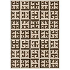 Jonathan Adler Greek Key Rug, 4' x 6' (¥99,485) ❤ liked on Polyvore featuring home, rugs, handwoven rug, hand woven rugs, jonathan adler rug, modern area rugs and greek key rug