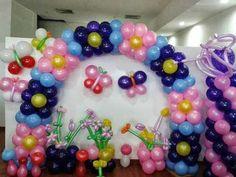 Curso de decoración artística de globos