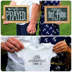 Our infertility story: PRODUCT OF PRAYER...