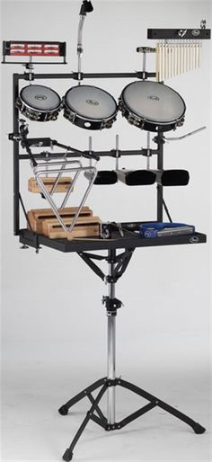 Pearl PTR1824 Add-On Percussion Rack for PTT1824 Trap Table