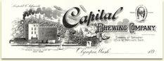 Capital Brewing Co. letterhead c.1900