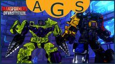Transformers Devastation PC Gameplay Part 8 Menasor and Devastator