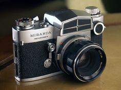 Miranda Sensorex - 1966 by Casual Camera Collector, via Flickr