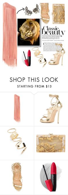 """""""Fall Fairy"""" by swankswanker ❤ liked on Polyvore featuring Temperley London, Dsquared2, BP., Charlotte Olympia, Revlon, Hueb and Dolce&Gabbana"""