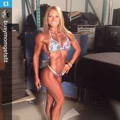 Hailing from Texas and coming all the way from Baltimore to the 2014 UFE World Championships in Downtown Toronto, congrats to @busymomgetsfit placing top 5 in her figure competitor category!  Check out Valerie's profile to follow her daily fitness motivation. Airbrush Makeup and Spray Tan by www.kayanabeautytrends.com