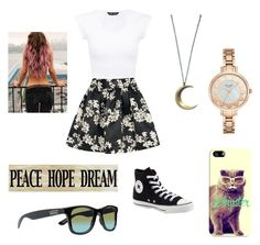 """Hipster"" by sparklecookie21 ❤ liked on Polyvore featuring Alice + Olivia, Converse, Kate Spade, Casetify and Vans"