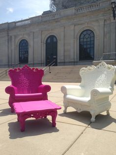 Magenta And White Romeo Chairs From Our New Verona Collection Http://www.