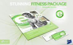 Example Fitness Flyer by Brydges Design facebook.com/brydgesdesign