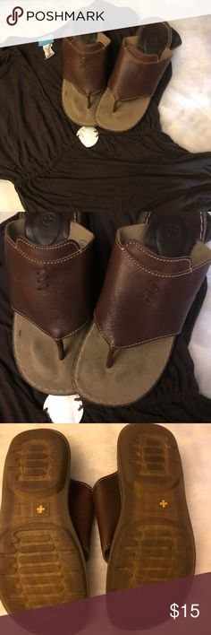 Dr Martens sandals in brown leather size 7 I have enjoyed these but am really cleaning closets now that I've discovered Posh. They are in good shape with no significant scratches etc... they are used and I priced accordingly. Dr Martens Shoes Sandals