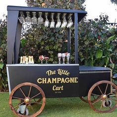 Anyone else excited that Perth has its very own Champagne cart? @thelittlechampagnecart has arrived just in time for the festive season!   @thelittlechampagnecart