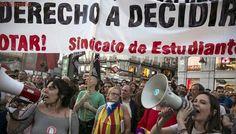 Convocan una protesta en Sol este domingo a favor del derecho a decidir y contra la «represión»