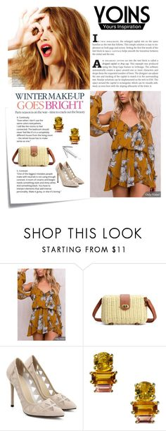 """""""yoins"""" by lifestyle-79 ❤ liked on Polyvore featuring Post-It, Celestine and Daou"""