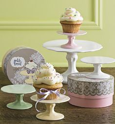 cupcake plates