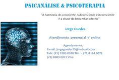 Psicanálise & Psicoterapia: Psicanálise & Psicoterapia com Jorge Guedes