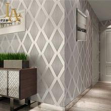 Alta Calidad Moderna Brillo 3D Fondos de escritorio de Lujo Para Salón Dormitorio Fondo de La Pared En Relieve Púrpura Gris Azul Marrón W194(China (Mainland))