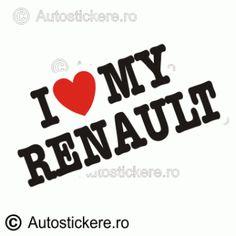I love my renault Company Logo, Stickers, Logos, Instagram, Madness, Logo, Decals