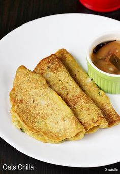 Oats chilla recipe – A quick, healthy and delicious oats recipe for breakfast under 20 minutes. This oats cheela can be served without any side since it tastes very good on its own. However a chutney or a sambar compliments the taste. These are best served hot or warm since they begin to loose the …