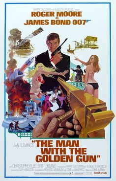The ninth spy film in the James Bond series, The Man with the Golden Gun, was released 40 years ago.