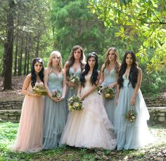 Fairytale bridesmaids                                                                                                                                                                                 More