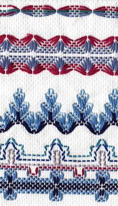 Swedish Weaving... my mother does this ♥