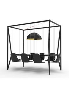 The incredible swinging Dining Table