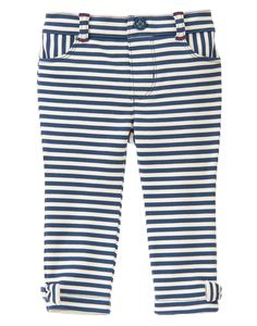Pull-On Striped Pants at Gymboree