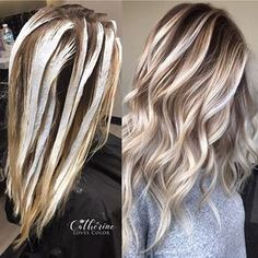 Balayage application & finished . Oligo clay lightener with just a dash of cool tone. Processed 45 minutes no heat. Added a lowlight at the same time redken shades EQ 6n and 7nb. Olaplex added to everything. Glossed with 9p shades EQ.