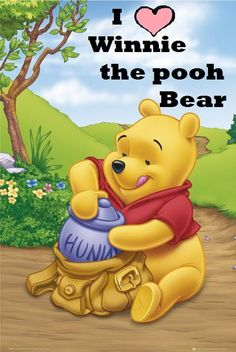 Winnie the Pooh is one of my fave!