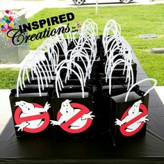 Ghostbuster treat bags