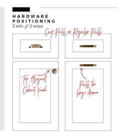 Knobs And Pulls From Hardware Resources Will Set Off The
